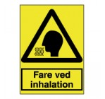 Fare ved inhalation - A300183
