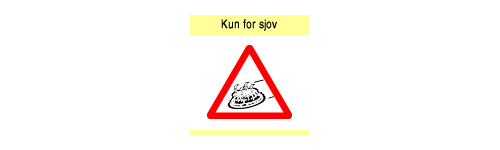 Kun for sjov